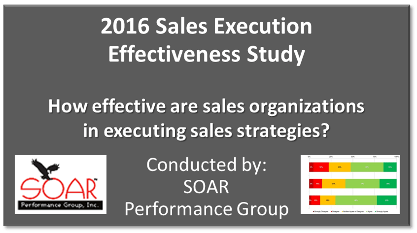 2016 Sales Execution Effectiveness Study