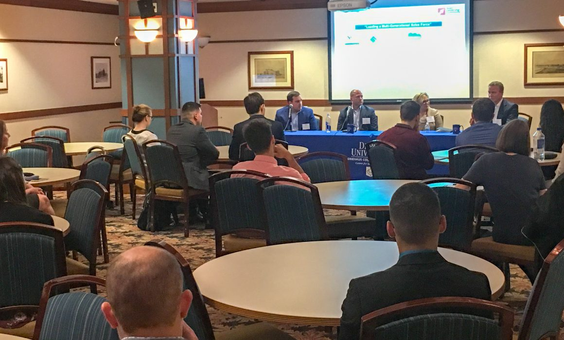 Chicago Sales Leadership Community | May 10, 2018 | How to Achieve the Best Sales Results from a Multi-Generational Sales Organization