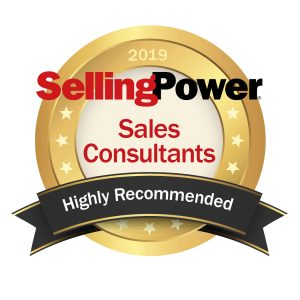 Selling Power Announces SOAR Performance Group on List of 2019 Highly Recommended Sales Consultants