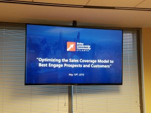 Optimizing the Sales Coverage Model to Best Engage Prospects and Customers (May 10, 2019)