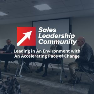 Leading in An Environment with An Accelerating Pace of Change