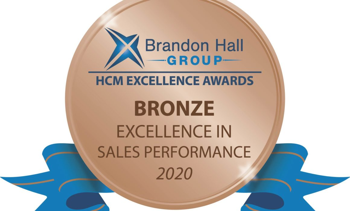 Brandon Hall Award Sales Performance